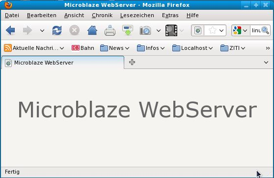 Webserver Busybox comes with httpd daemon (web server)