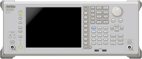 Low Cost: Low Power Consumption to Save Running Costs Low Power Consumption Anritsu conventional model Spectrum Analyzer 210 VA down 52.