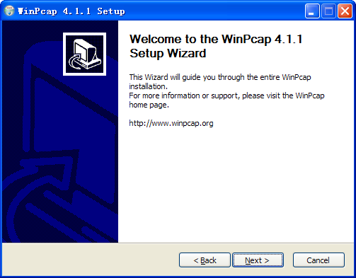Figure 4.8 Install WinPcap Note: The SADP is used for automatically searching the online device in the local network.