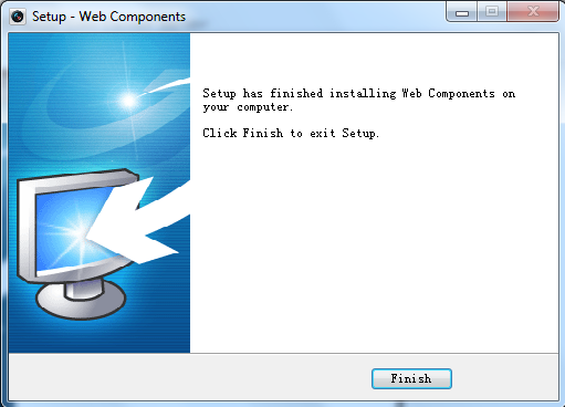 Figure 5.5 Finish the Setup 5.2 Main Page After successful login, you will enter the main page automatically. Figure 5.