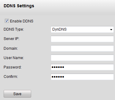 Figure 7.9 PPPOE Settings 2. Check the PPPoE checkbox to enable this feature. 3. Enter User Name, Password, and Confirm Password for PPPoE access.