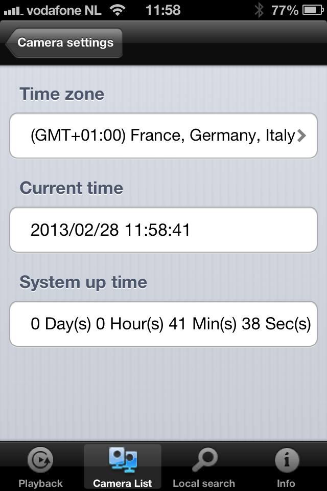 4.9.1 Date/time 47 ENGLISH Select the time
