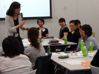 Fiscal 2013 Career-Resumption Seminar Career Resumption Seminars: Terumo is seeing a rising number of men and women who want to continue with their careers while caring for children or providing