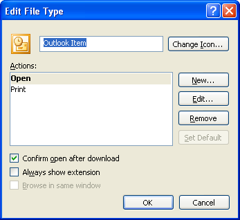 4. You should be able to see this extension associated with the Microsoft Office Outlook.