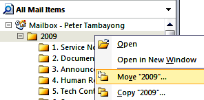 Business I.T Services - Guide 4) Select Office Outlook Personal Folder File (.