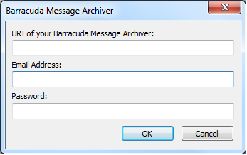 Introduction The Barracuda Message Archiver Outlook Add-in allows you to perform various functions with messages that are stored on your organization's Barracuda Message Archiver, including: