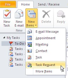 3. The Untitled Task window displays. 4. Enter Subject, Start date, Due date, Status & Priority for the task. 5.