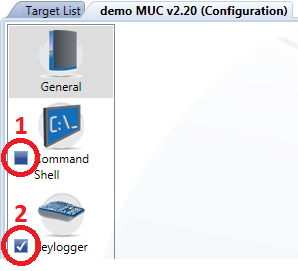 48 2.2.5.18 Configuration Add & Remove Module To add & remove modules it is not required to create a new FinSpy Target Package. This can be done easily through the Configuration dialog.