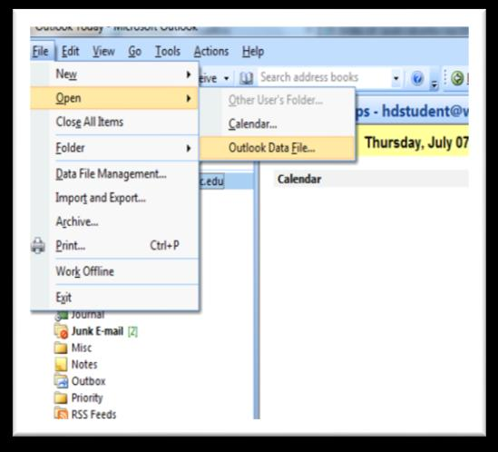 7) About Outlook Archived Folders. Archiving in Outlook moves the mail and folder structure of old mail to a separate Outlook (.pst) file (named Archive.