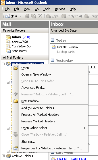 Tips and Tricks for increasing your efficiency in Microsoft Outlook 1.