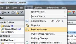 Slide 8 Get the volume down by Outlook rules Create rules to reduce volume and focus on the right tasks. Typically most will need rules for moving CC-mail, and distribution list mail to other folders.
