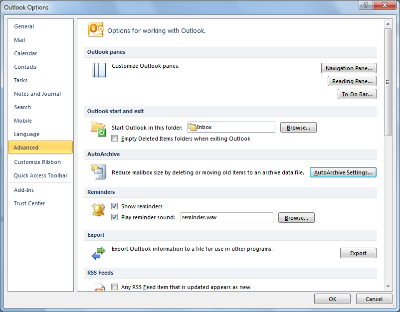 The AutoArchive Function When you enable the AutoArchive function, it will run at scheduled intervals, clearing out old and expired items from your Outlook folders.