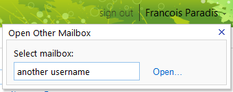 3. Managing accounts Email User Guide Once you have access to a shared mailbox, Outlook will automatically display it in your mail group/list along withg your regular account.