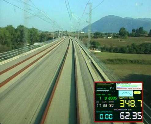 "AV/AC Control trains Reliability improvement of networks for control of Italian high speed railway system (AV / AC - ""High"
