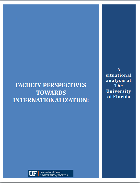 Results of 2013 Study of Faculty Perceptions Towards International Research