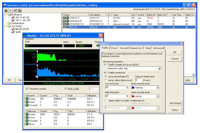 SNMP poller and trap listener probes SNMP MIB poller and browser CA Nimsoft Monitor provides a specialized probe that can poll standard or proprietary MIB objects from SNMP compliant devices.