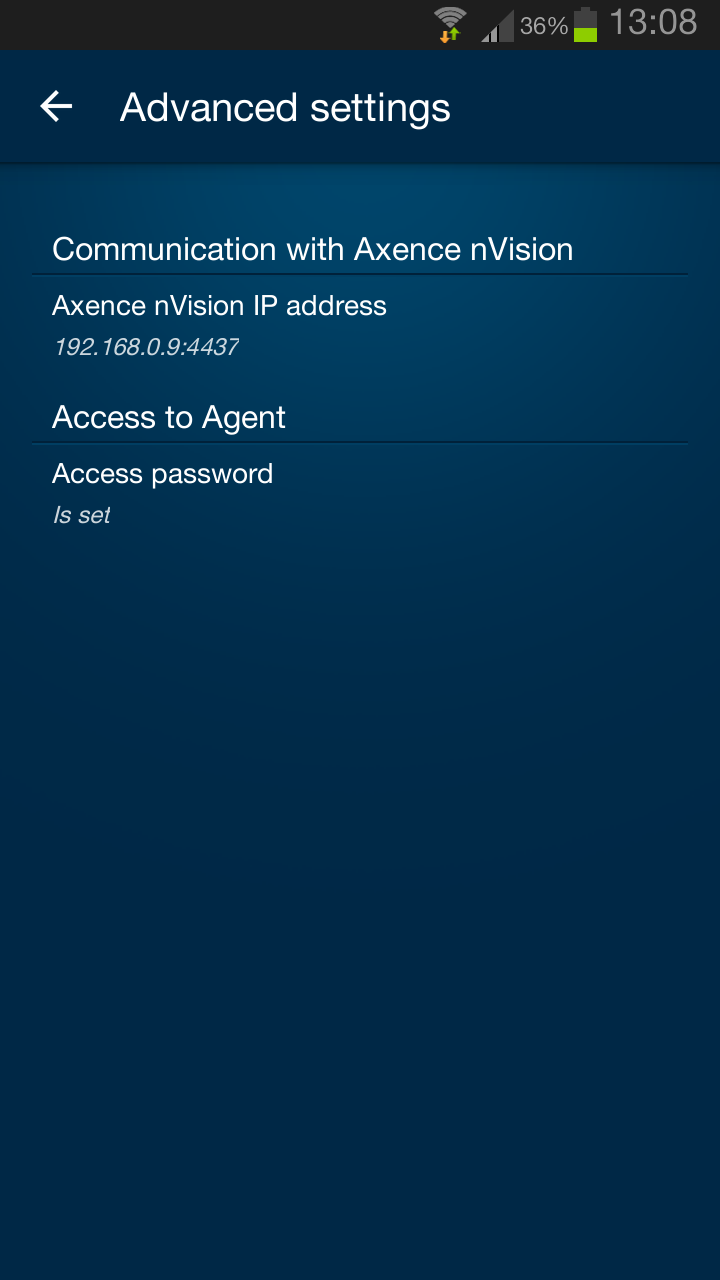 107 Axence nvision Help 4. 5.