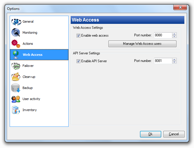 Web Access 9 Web Access 9.1 How to get access to nvision via Web browser?