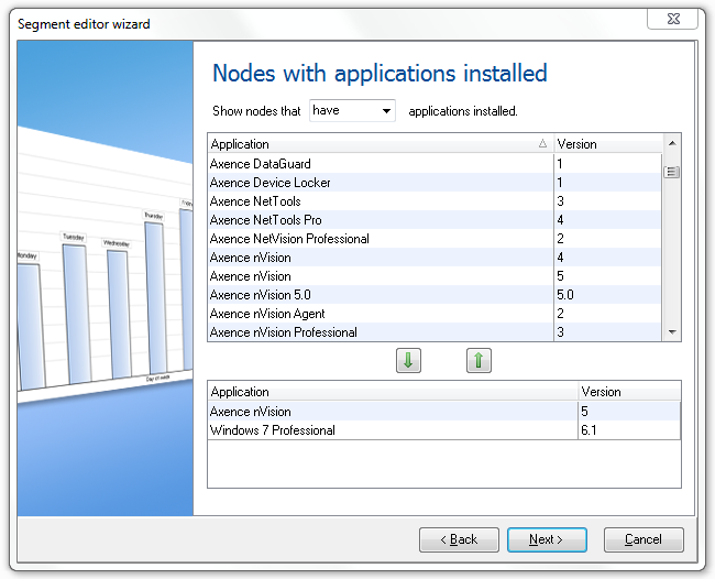 Reports Applications on hosts List of all installed applications on hosts.