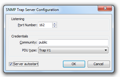 55 Axence nvision Help 3. To configure the server, click the Configure button in the top part of the window. 4. Set the listening port and access policy options.