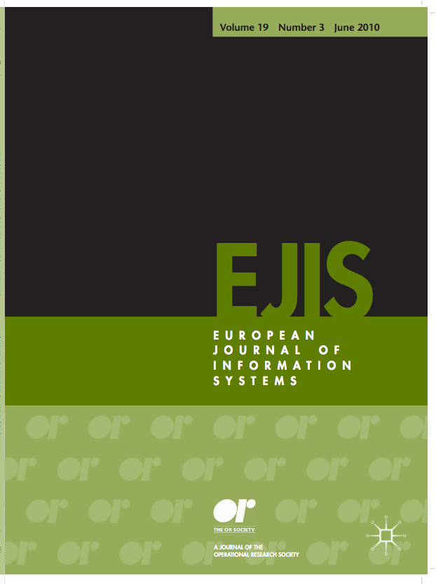 EUROPEAN JOURNAL OF INFORMATION SYSTEMS (EJIS) www.palgrave-journals.