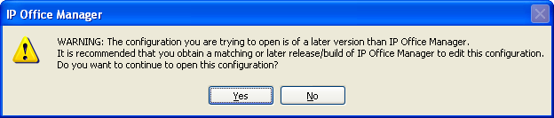 The IP Office Administration installer will detect previous installed versions and upgrade automatically. If a version earlier than 9.