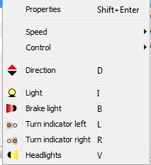 To modify the speed there are several options: Move the slider that represents the decoder steps.
