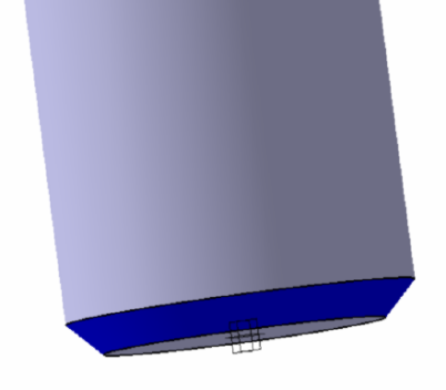 4 Implementation of chamfers and fillets for edges Dress-Up Features operations Using the Chamfer tool you need to make chamfers with dimension 1x45 o of the edges shown in figure 6.8.