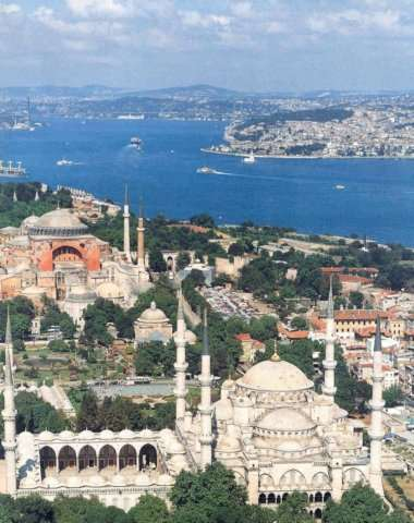 Some Highlights of Turkey Istanbul The Glorious City on the Bosphorus Istanbul is a very old capital city of Three Empires where Asia and Europe cuddle up each other.