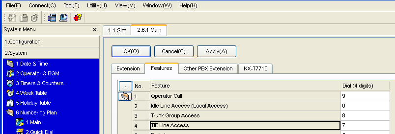 4.2.3 Programming the Network Settings 4.2.3 Programming the Network Settings For successful operation of a VoIP network using the V-IPGW16 card, network settings for the PBX at each location must be programmed appropriately.