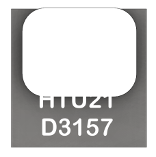Traceability Information All HTU21D(F) sensors are laser marked with an alphanumeric, five-digit code on the sensor as pictured below.