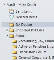 Outlook 2010 Support Seamless Integration Virtual Vault Vault Cache Enterprise Vault Toolbar Drag & Drop Shortcut Access