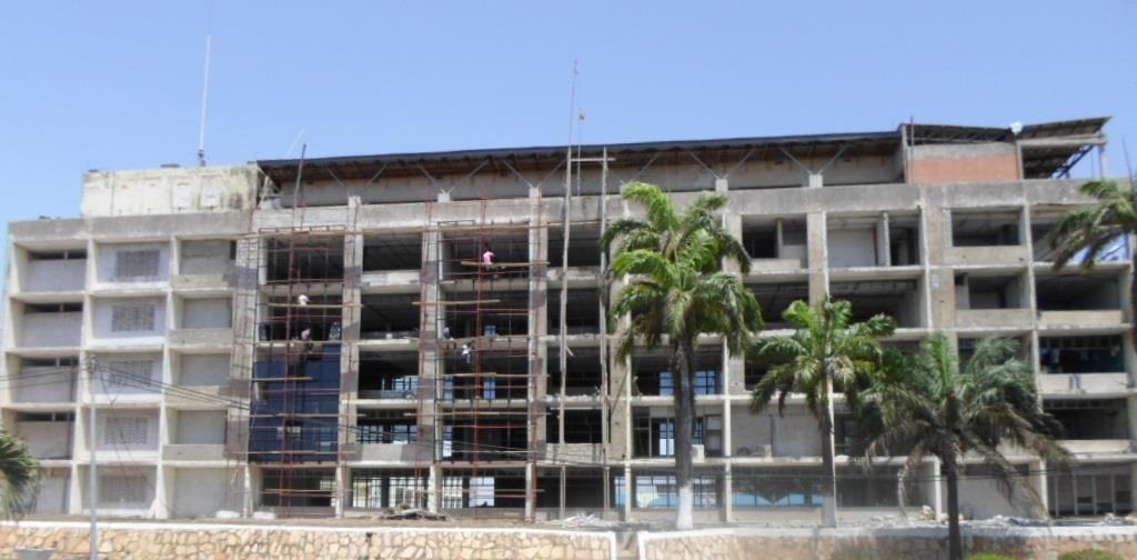 11. Re-modelling of Office Building for Tema Port Head Office Contractor: JOMAPAT Co. Ltd.