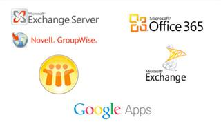 Lotus Notes Novell GroupWise Office365/BPOS Google Apps AirWatch Inbox Enterprise-grade security
