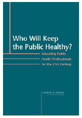 Innovative Problem-Solving Curriculum The Institute of Medicine recently recommended that programs in public health move towards a transdisciplinary approach This approach recognizes that public