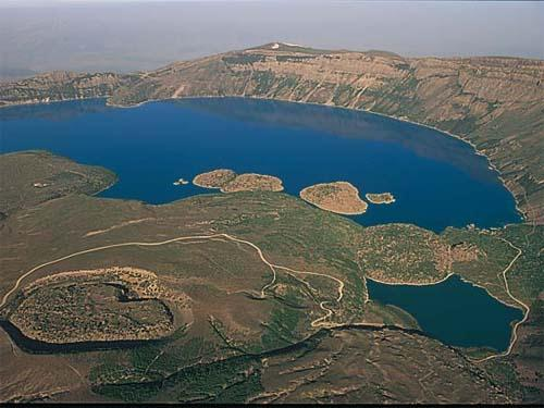 Turkey has a form of peninsula and having so many lakes, barrages