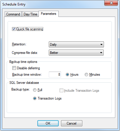 3.6 Running a Scheduled Backup 1. Select your SQL Server Agent from the left pane of the main CentralControl screen.