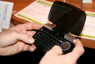 Types of Keyboard Thumb-sized keyboard Smaller external keyboards have been introduced for devices without a