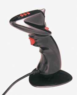 Pointing Devices Joystick A joystick allows an individual to move an
