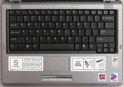 Types of Keyboard Laptop Keyboard The laptop computer keyboard is a small version of the typical QWERTY keyboard.