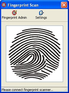 To register individuals using a finger vein scanner 1.