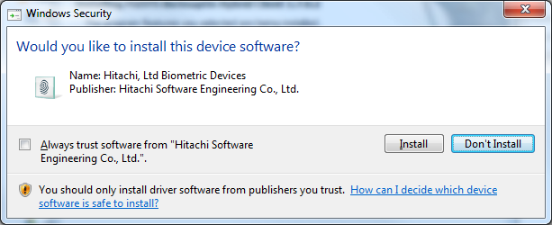 Windows Vista and higher users: When the Windows Security window displays, click Install this driver software anyway, and then click Install. 8.