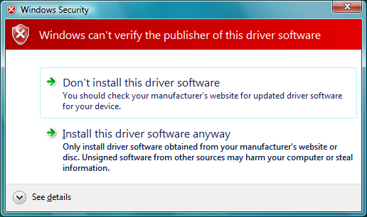 2 The Driver Software Installation (32bit driver) Windows Vista (32bit) 1. Turn on the scanner. 2. Use the USB cable to connect the scanner to the computer. 3.