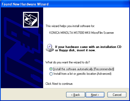 The Driver Software Installation (32bit driver) 2 6. Confirming the completion of the search wizard, click Finish. 7.