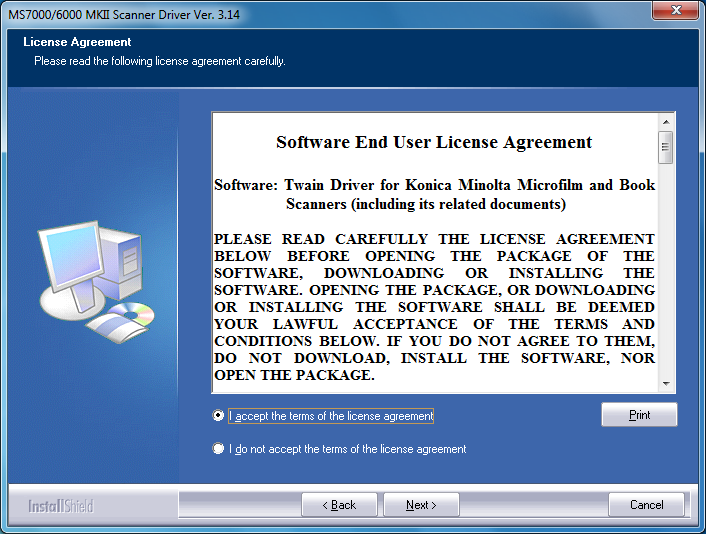 The Driver Software Installation (64bit driver) 3 3. When the installation screen appears click Next. 4.