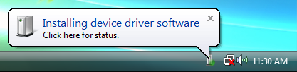 The Driver Software Installation (64bit driver) 3 5.