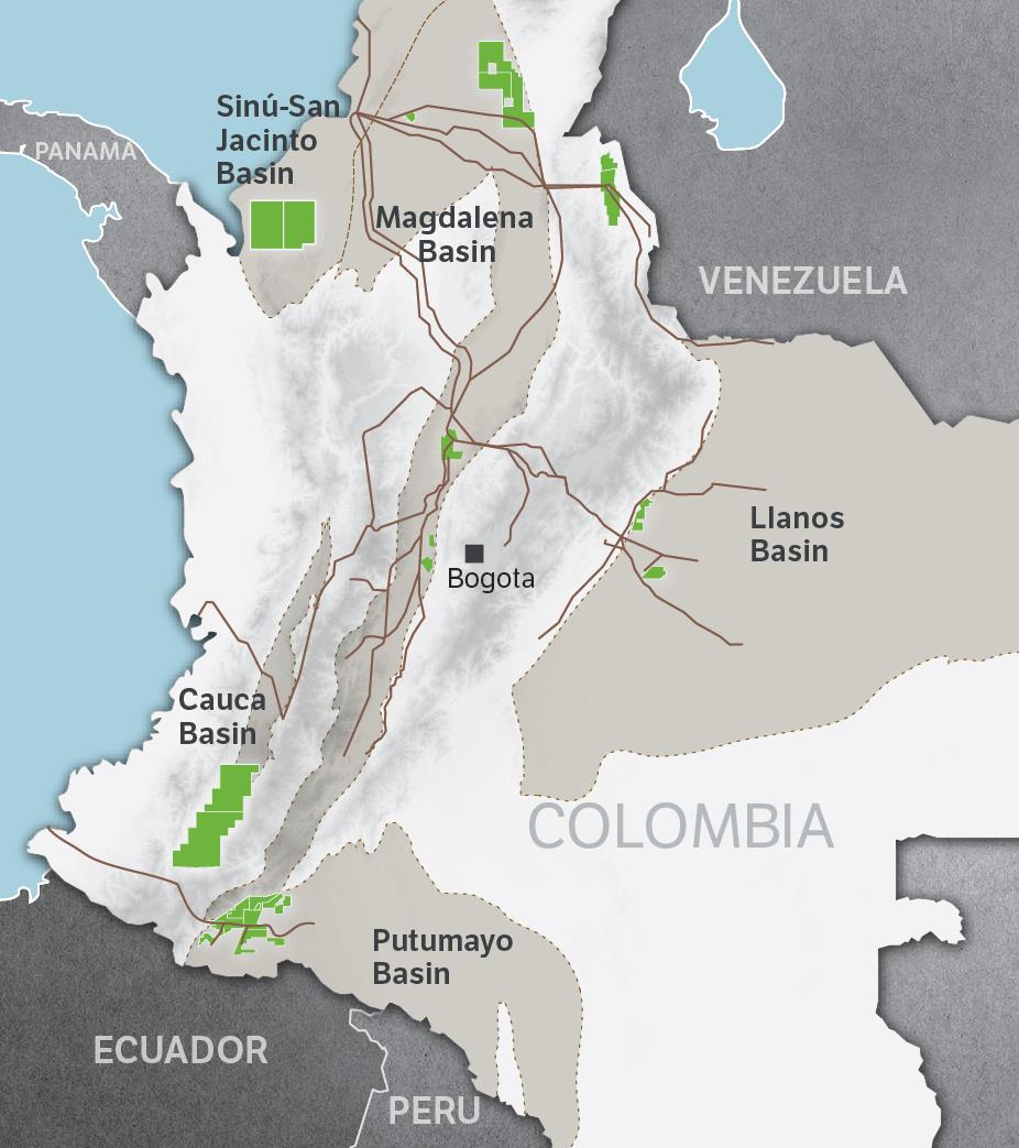 Growth in Colombia Growth through exploration, development and capturing of acquisition and partnering opportunities Multiple opportunities are currently under evaluation that offer potential