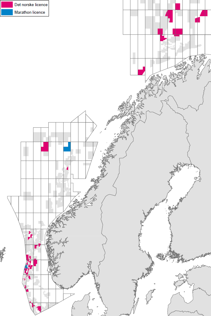 Creation of a strong Norwegian E&P company Acquisition of Marathon Oil Norway transformed Det norske Integration was completed in less than 4 ½ months Organisational set-up to support flexibility and