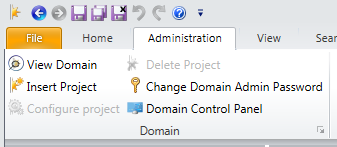 Figure 10 Change domain admin