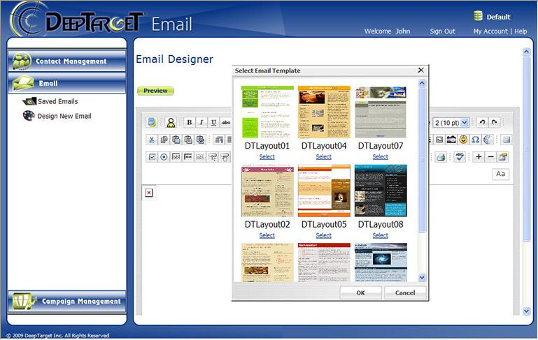 Rich Email Designer Design your email from scratch without being an HTML wizard Or pick one of